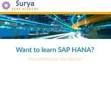 LEARN SAP BW/4HANA
