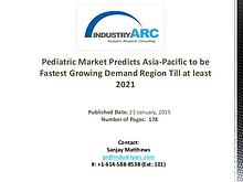 Pediatric Market: Key Players Focused on Making Affordable Products f