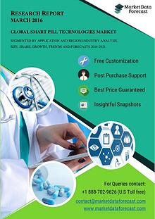Global Smart Pill Technologies Market is anticipated to reach USD 492