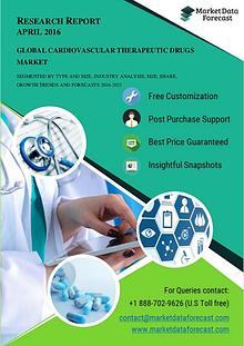 Global Cardiovascular Therapeutic Drugs Market Trends and Key Busines