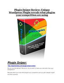 Plugin Sniper review-SECRETS of Plugin Sniper and $16800 BONUS