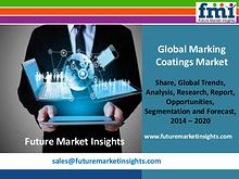 Marking Coatings Market Segments and Key Trends 2014-2020
