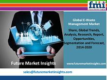 E-Waste Management Market Forecast By End-use Industry 2014-2020