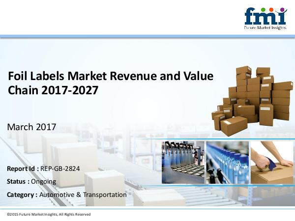 FMI Foil Labels Market Segments and Key Trends 2017-20