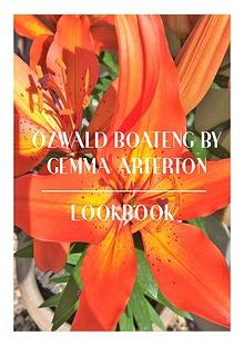 Ozwald Boateng by Gemma Arterton LookBook