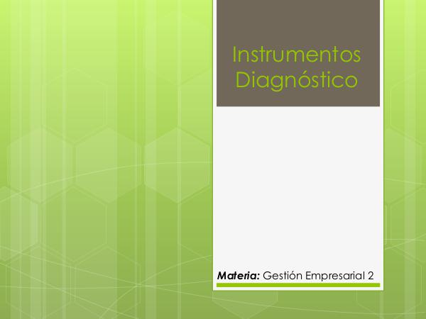 Instrumentos Diagnostico Instrumentos Diagnostico