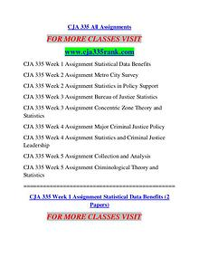CJA 335 RANK Learn by Doing/cja335rank.com
