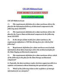 CIS 429 RANK Career Path Begins/cis429rank.com