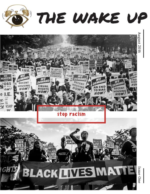 The Wake Up Issue One August 2016