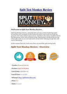 Split Test Monkey Review - Low Cost & Huge Bonus