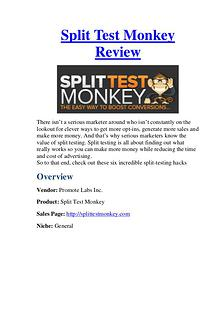 Split Test Monkey Review - &70000 Bonuses For You