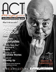 ACT Dance Model Sing Magazine