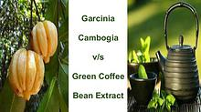 Garcinia  Cambogia  v/s  Green Coffee  Bean Extract