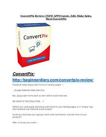 ConvertPix Review - ConvertPix +100 bonus items