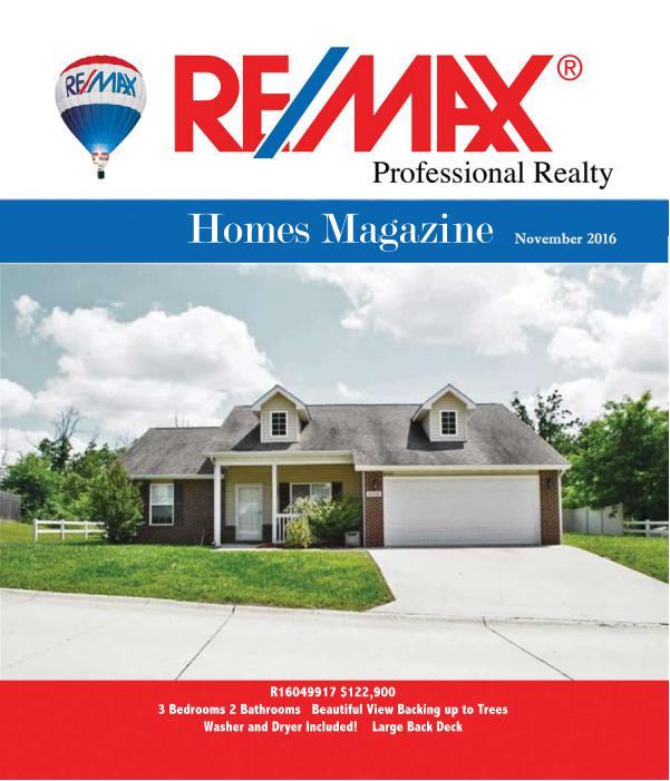 Fort Leonard Wood area Homes Magazine November Issue