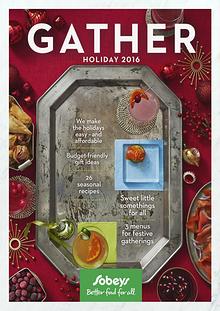 GATHER Holidays 2016