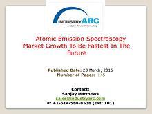 Atomic Emission Spectroscopy Market | IndustryARC