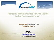 Hemostats Market Analysis | IndustryARC