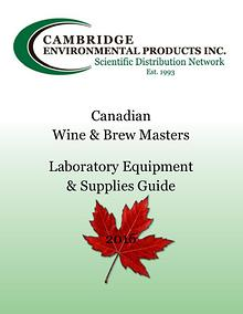 Canadian Wine & Brew Masters Laboratory Equipment & Supplies