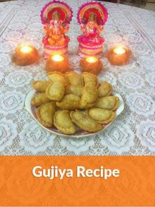 Easy Gujiya Recipe