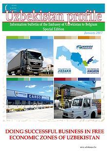 DOING SUCCESSFUL BUSINESS IN FREE ECONOMIC ZONES OF UZBEKISTAN