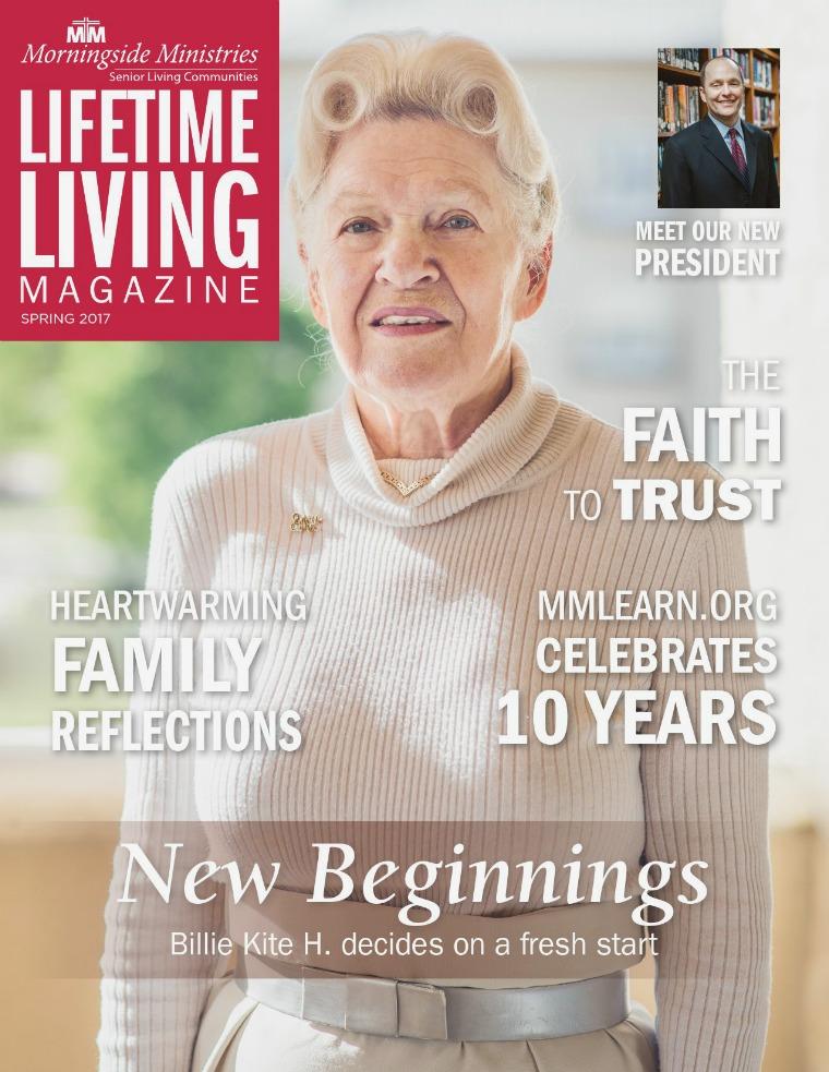 Lifetime Living Magazine Spring 2017