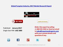 Global Forecats on Tungsten Market Analysis & Forecasts 2021