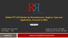 Global tft lcd market by manufacturers, regions, type and application