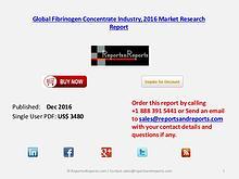 Global Fibrinogen Concentrate Market Analysis & Forecasts 2021