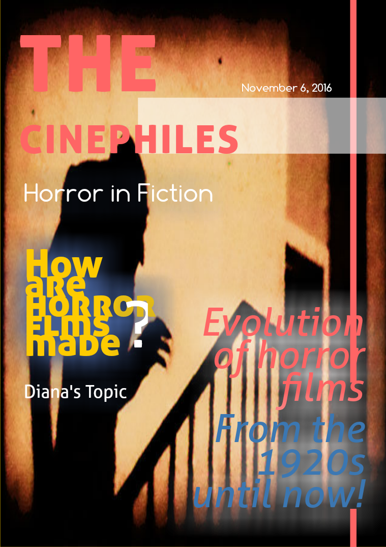 The Cinephiles: Horror in Fiction 1