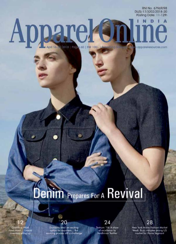 Apparel Online India Magazine April 2nd Issue 2018