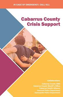 Cabarrus Mental Health and Substance Misuse Resources