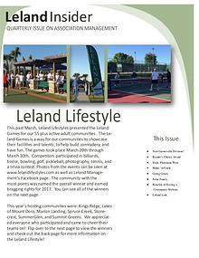Leland Insider Spring/Summer Edition