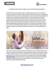 Vashikaran Ek Sammohan - Get Rid Of Your Love Problems