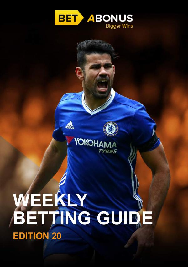 Weekly Betting Guide Volume 20