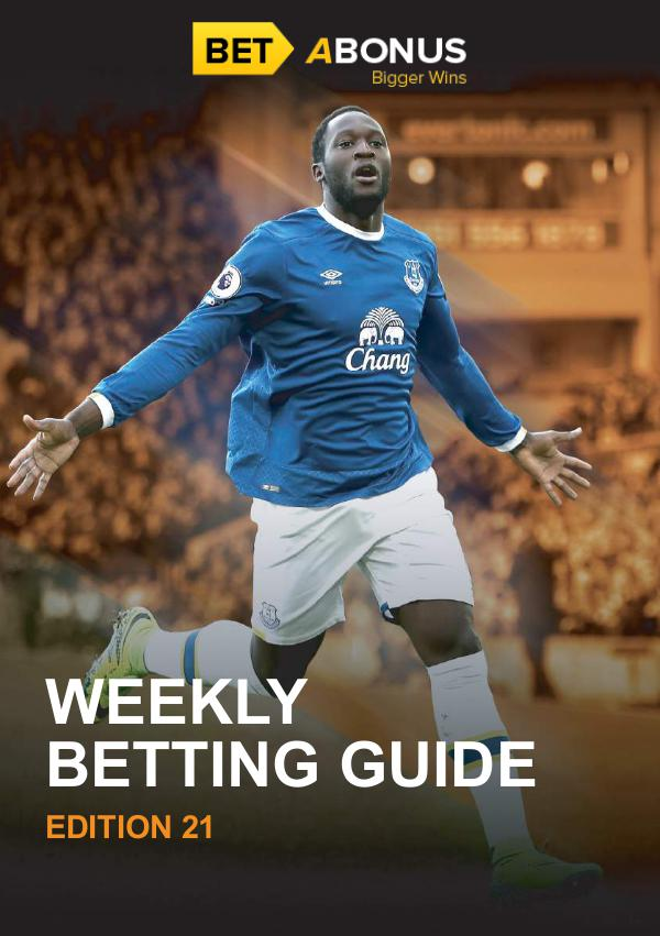 Weekly Betting Guide Volume 21