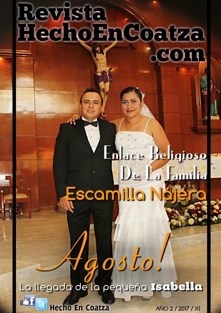 Revista HechoEnCoatza.Com Enero 2017 Revista hechoencoatza.com Agosto 2017