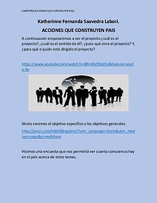 ACCIONES QUE CONSTRUYEN PAIS