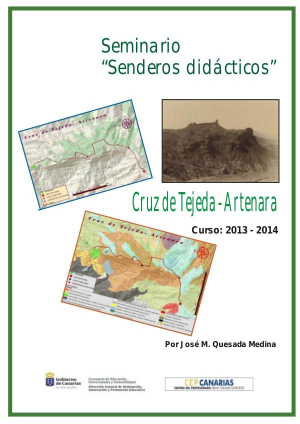 I Edición Senderos Didácticos: Cruz de Tejeda - Artenara Ruta Cruz de Tejeda- Artenara (1)