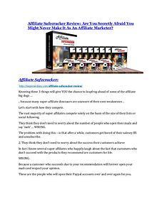 Affiliate Safecracker review and MEGA $38,000 Bonus - 80% Discount