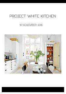 PROJECT WHITE KITCHEN