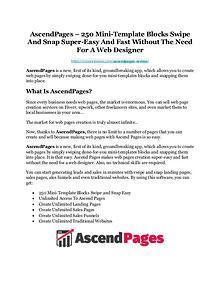 AscendPages Review-AMAZING $32,000 Bonus & Discount