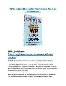WP Lockdown review & bonuses - cool weapon
