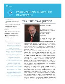 Parliamentary Forum for Democracy News