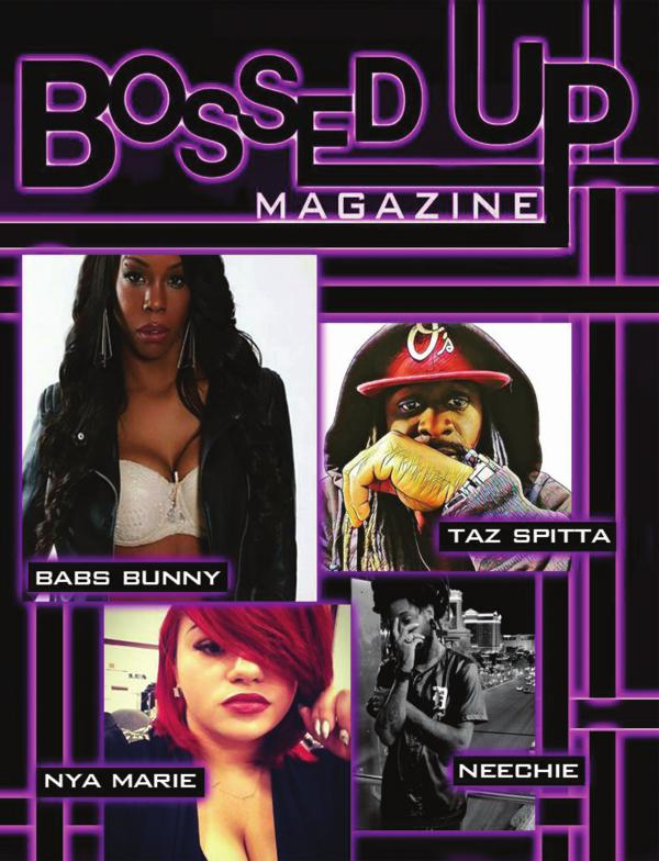 Bossed Up Magazine Babs Bunny May 2017
