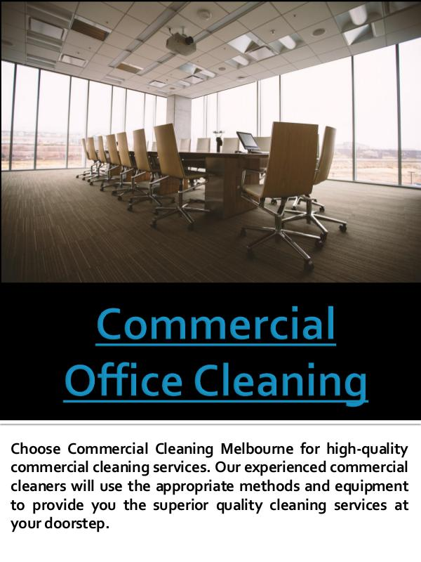 Commercial Office Cleaning Commercial Cleaning