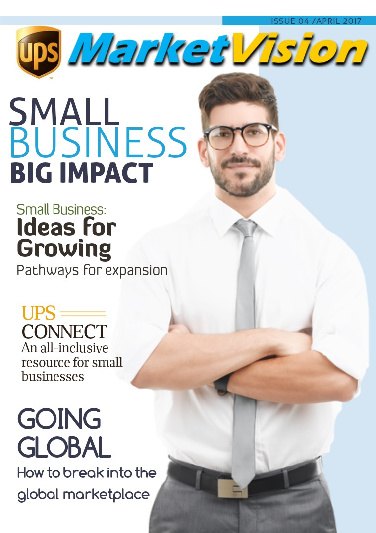 UPS Market Vision April - Small Business