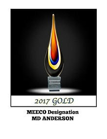 MEECO DESIGNATION REPORT 2017: MD ANDERSON