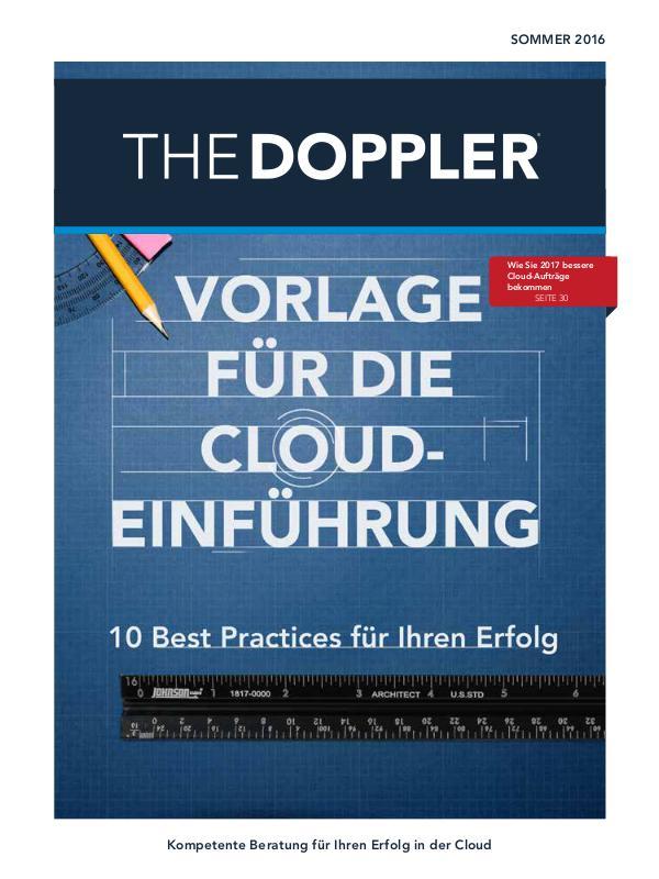 The Doppler Quarterly (DEUTSCHE) Sommer 2016