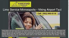 Minneapolis MSP Airport Taxi | Limousine Service in MN and Saint Paul